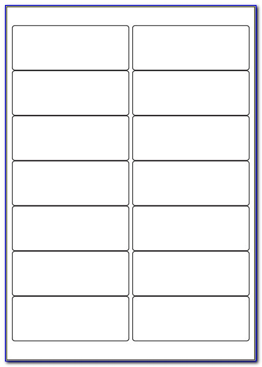 Template For Labels 14 Per Sheet