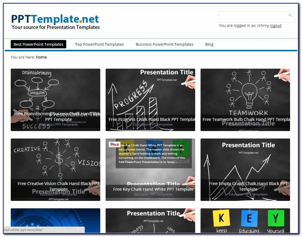 Template For Powerpoint Free Download Business