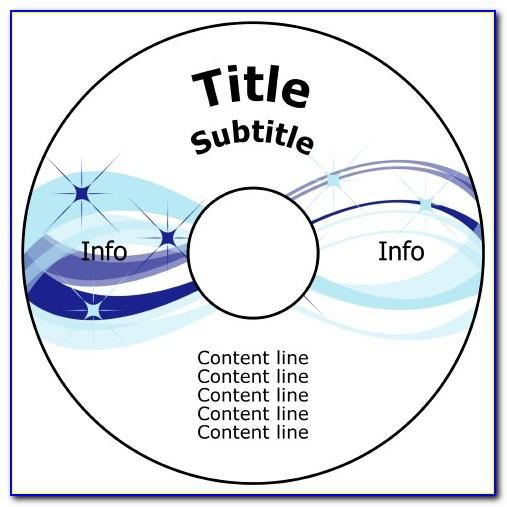Template For Pressit Cd Labels