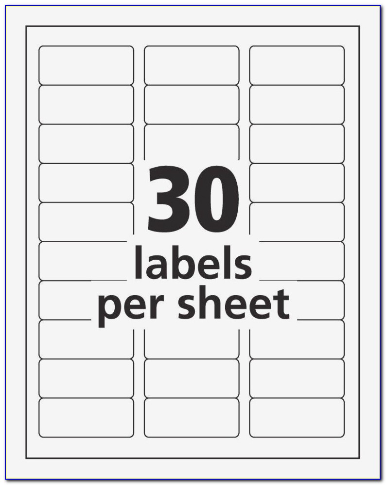 Template For Printing Labels 14 Per Sheet