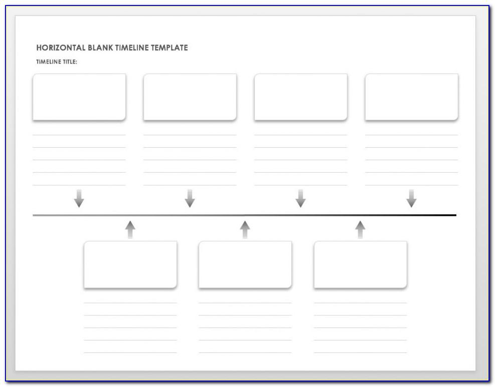 Template For Project Timeline In Powerpoint