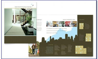 Template For Real Estate Brochure