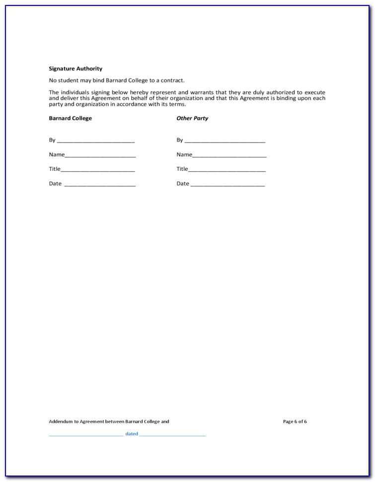 Template For Terminating Contract Agreement