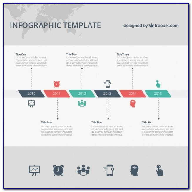 Template For Timeline Microsoft Word