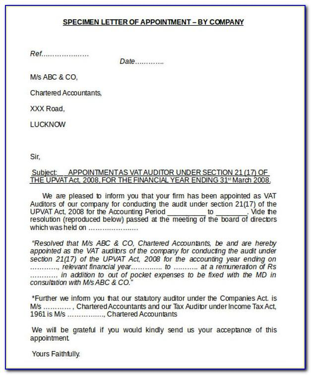 Template Resignation Letter Pdf