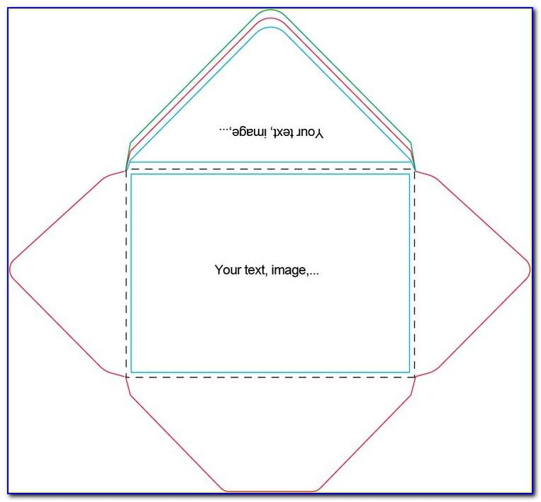 Template To Print A7 Envelopes