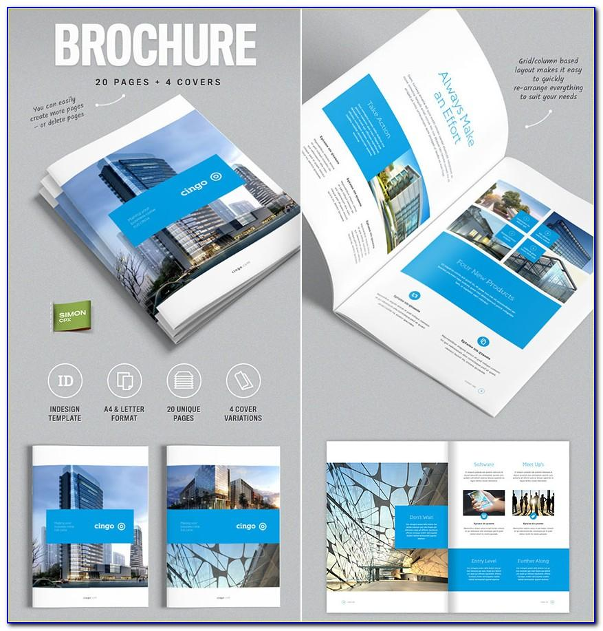 Templates Brochure Indesign Free