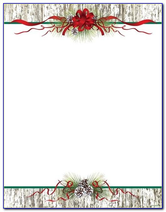 Templates For Christmas Letterhead