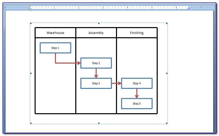 Templates For Flow Charts In Excel 2007