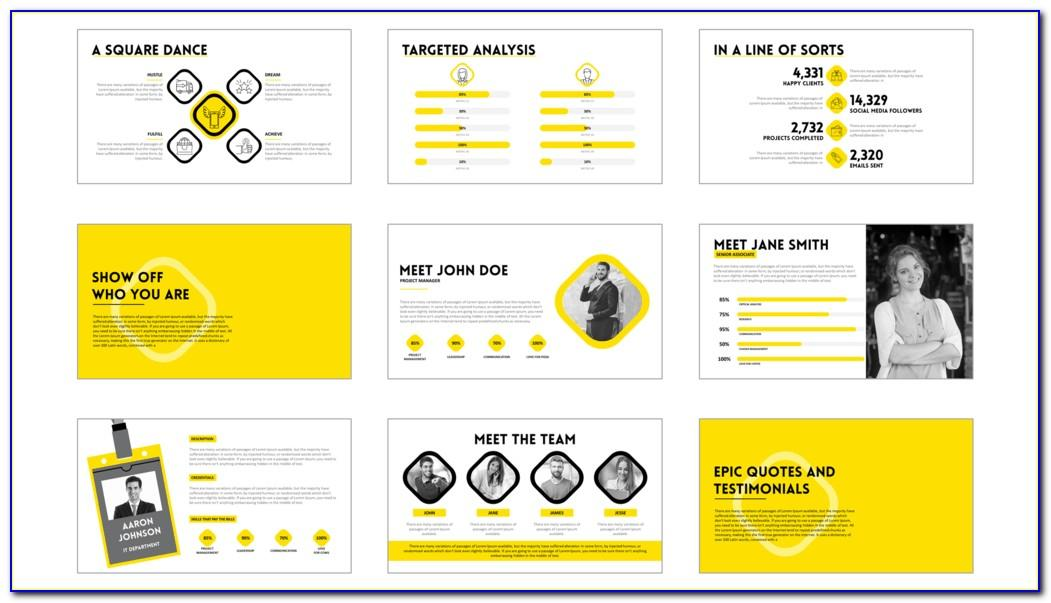 Templates For Slide Presentation