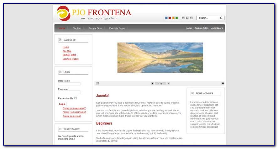 Templates Joomla 2.5 Responsive Free