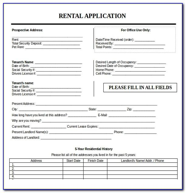 Tenancy Agreement Form Uk Doc