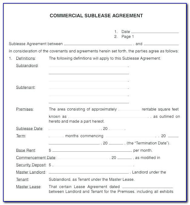 Tenancy Agreement Malaysia Template Free