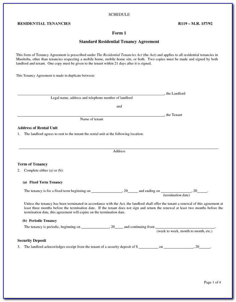 Tenant Eviction Notice Alberta Form
