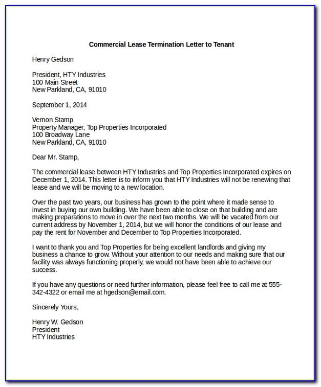 Tenant Landlord Lease Agreement Template