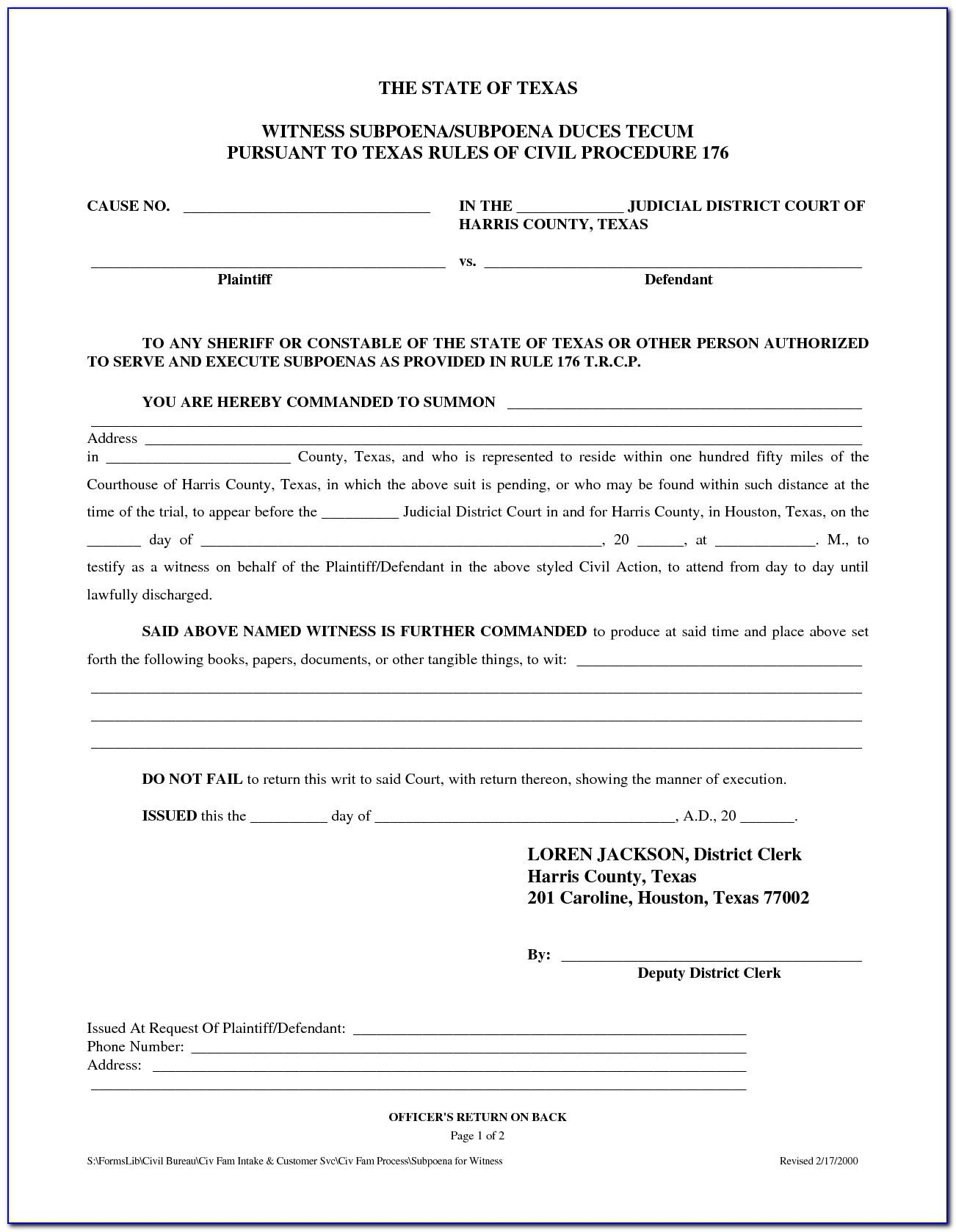 Texas Divorce Decree Form Pdf