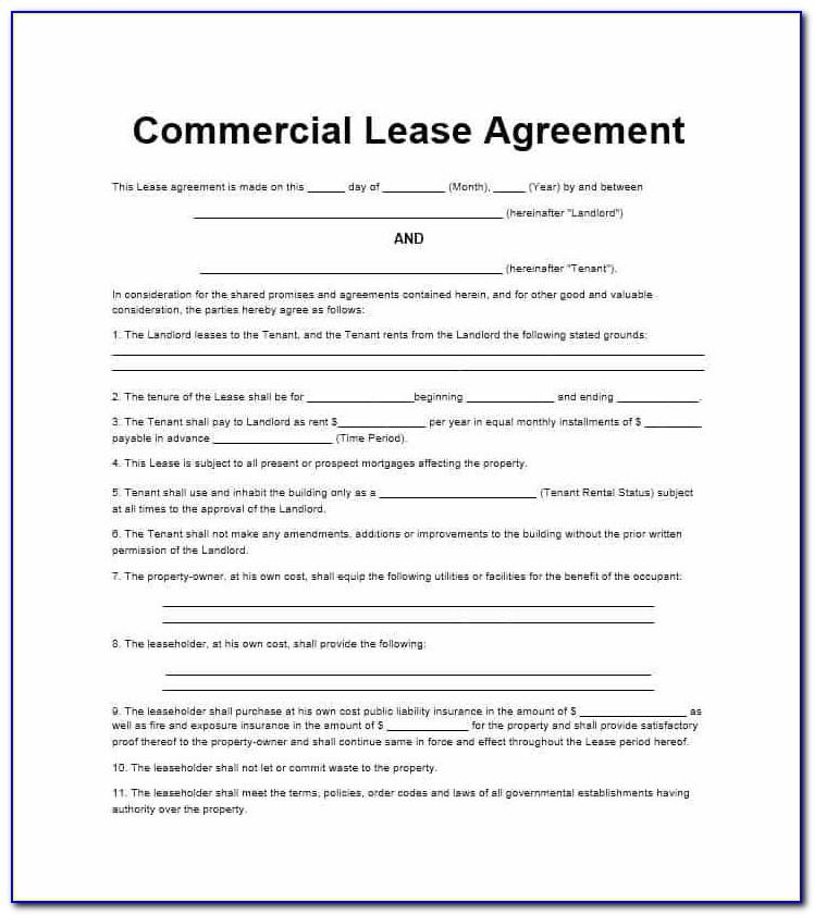 Texas House Lease Agreement Template