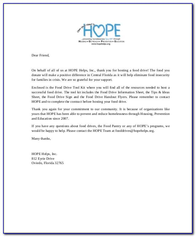 Thank You Letter For Book Donation To School
