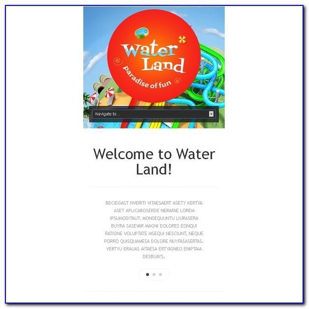 Theme Park Web Templates