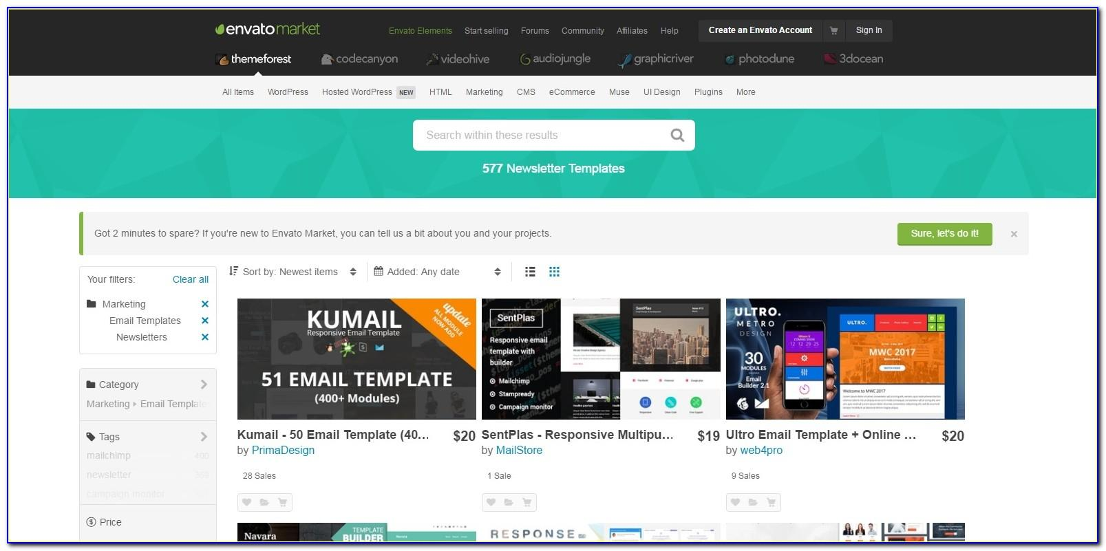Themeforest Email Templates Download
