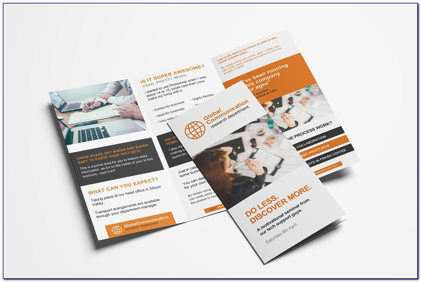 Three Fold Brochure Templates Free Download