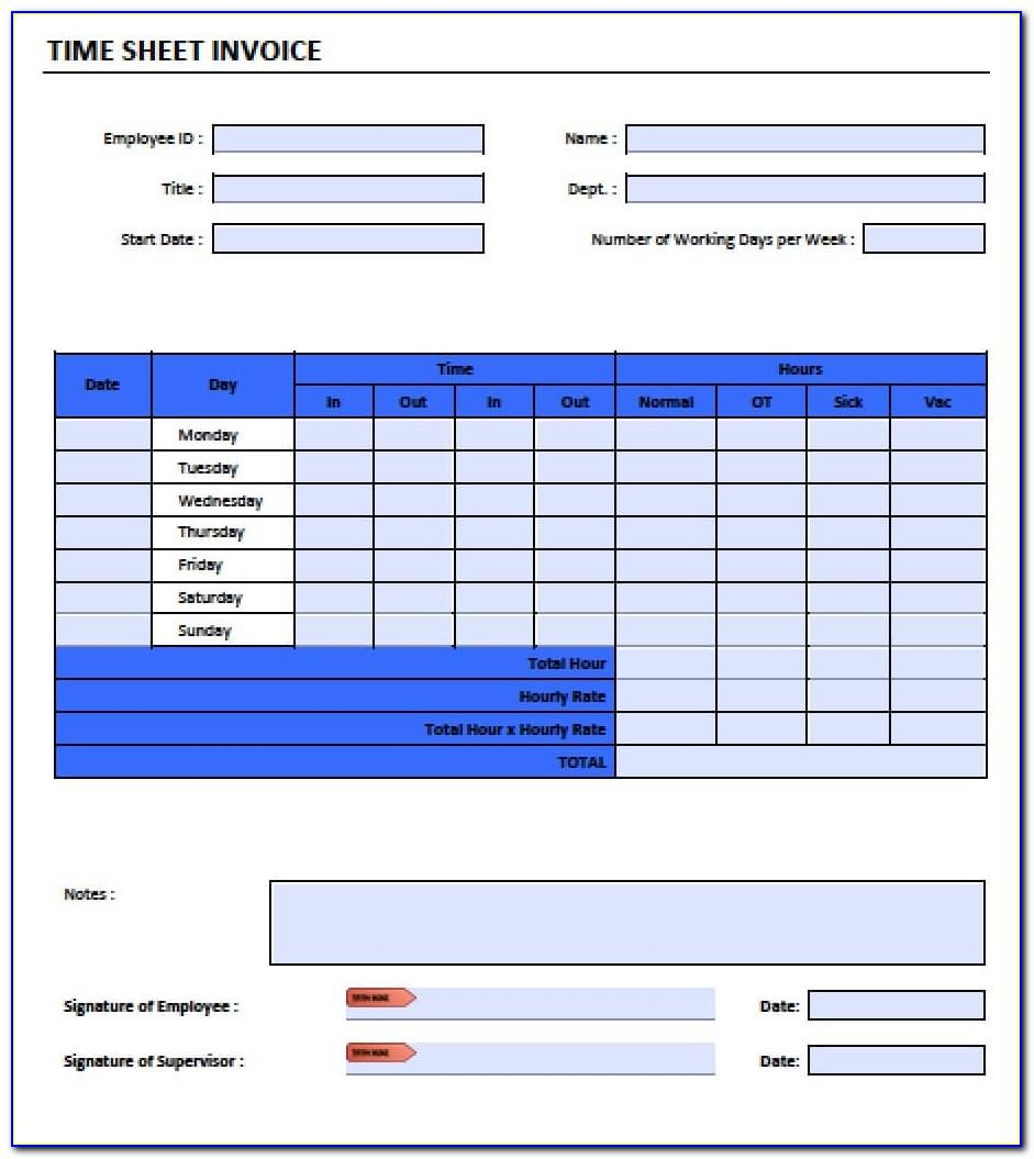 Time And Motion Study Template Warehouse