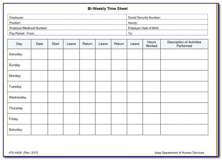 Time Motion Study Excel Template