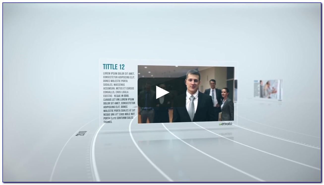 Timeline After Effects Template Free
