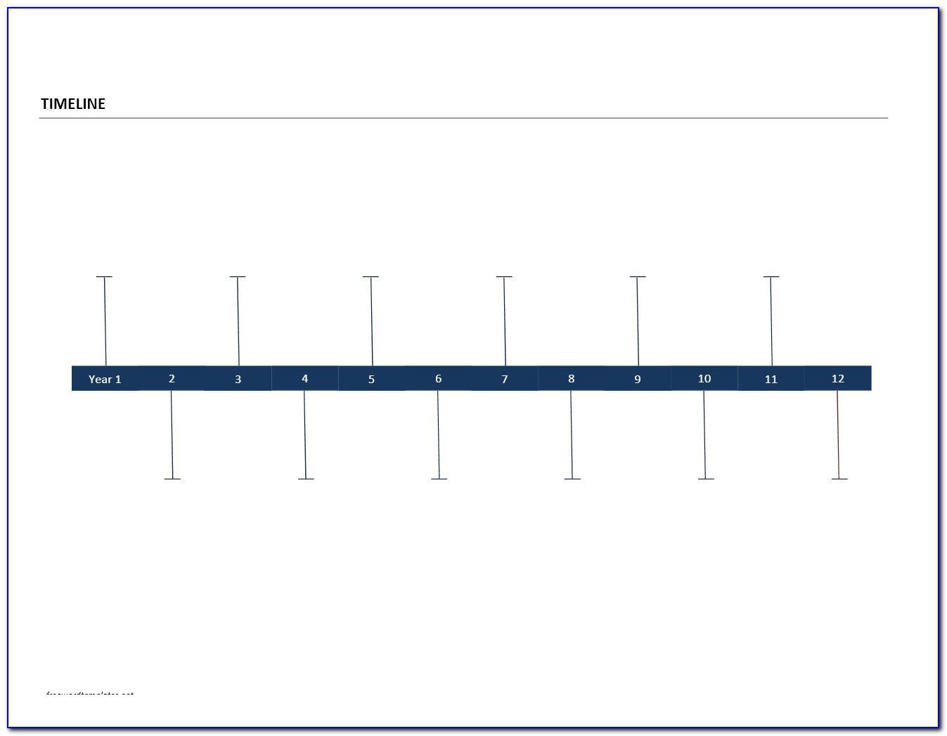 Timeline Calendar Template Excel