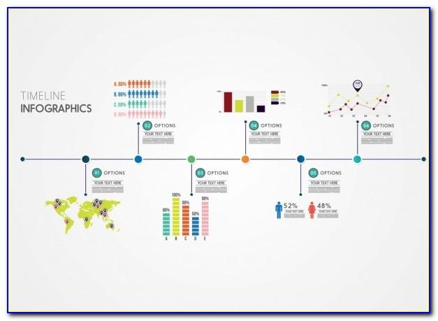 Timeline Flowchart Template Excel
