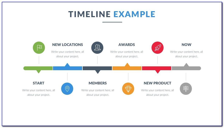 Timeline Maker Excel Template