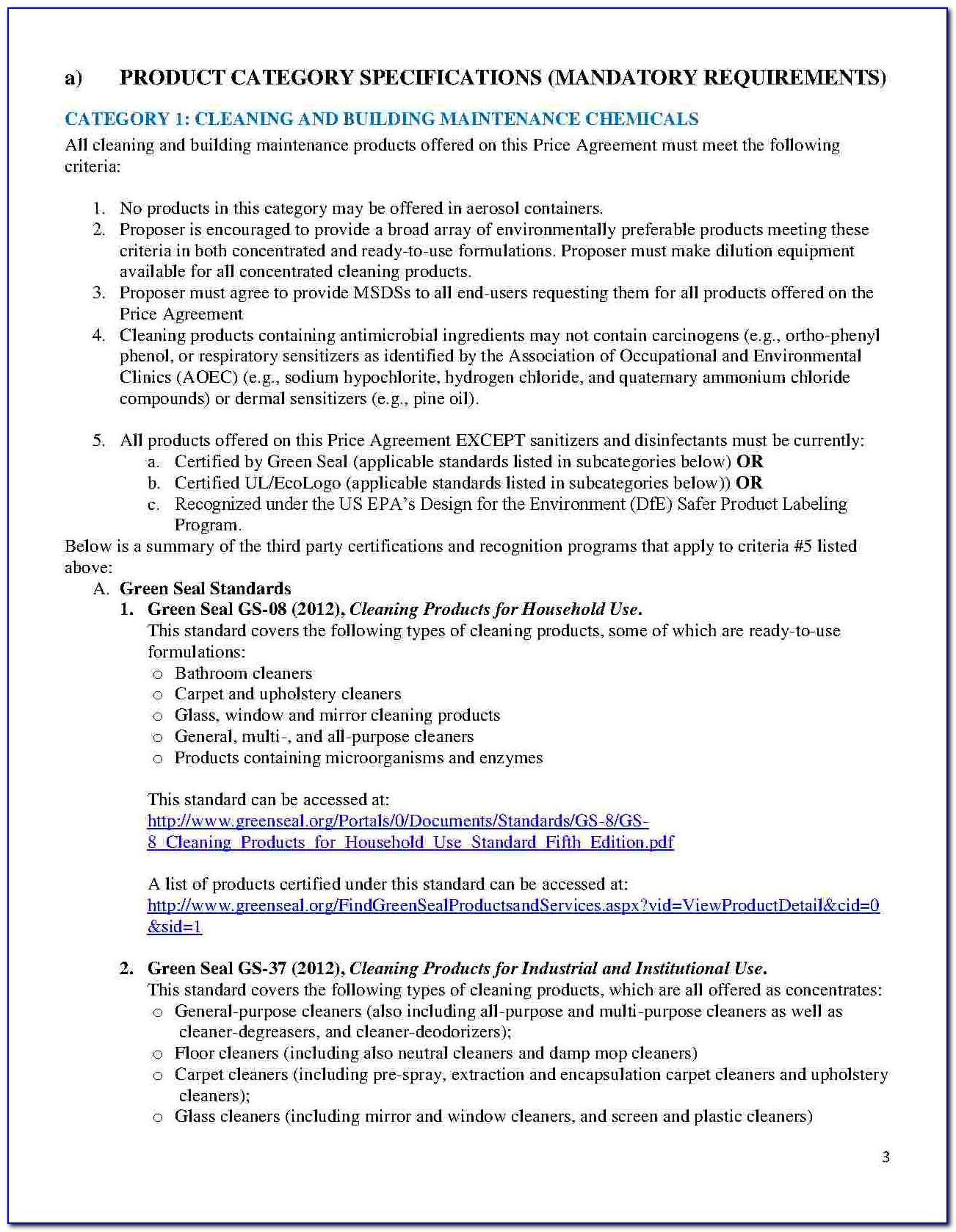 Toll Manufacturing Contract Template