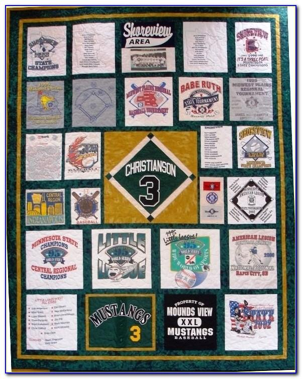 Too Cool T Shirt Quilt Templates