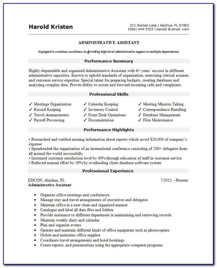 Top Best Resume Templates
