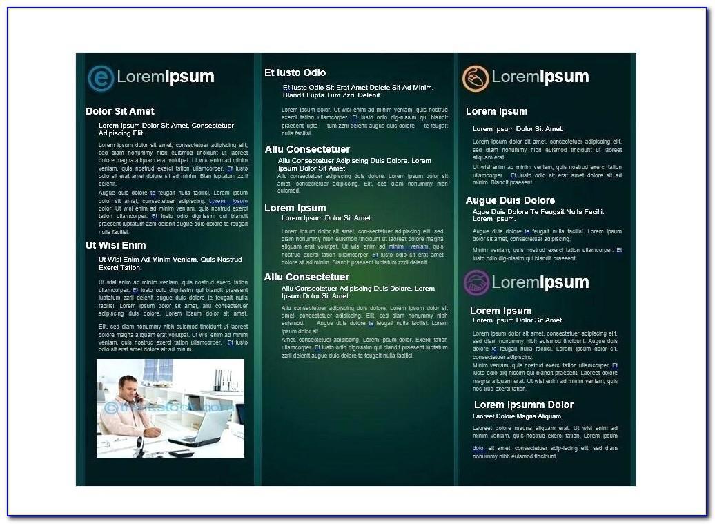 Training Brochure Template Free