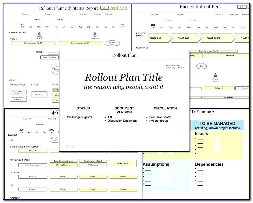 Training Rollout Plan Example