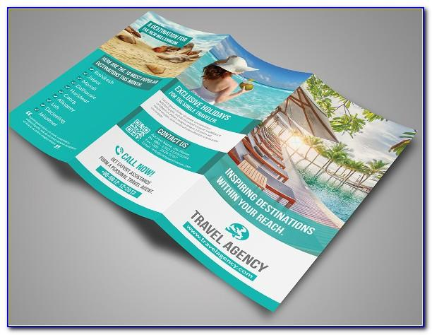 Travel Agency Brochure Template Design
