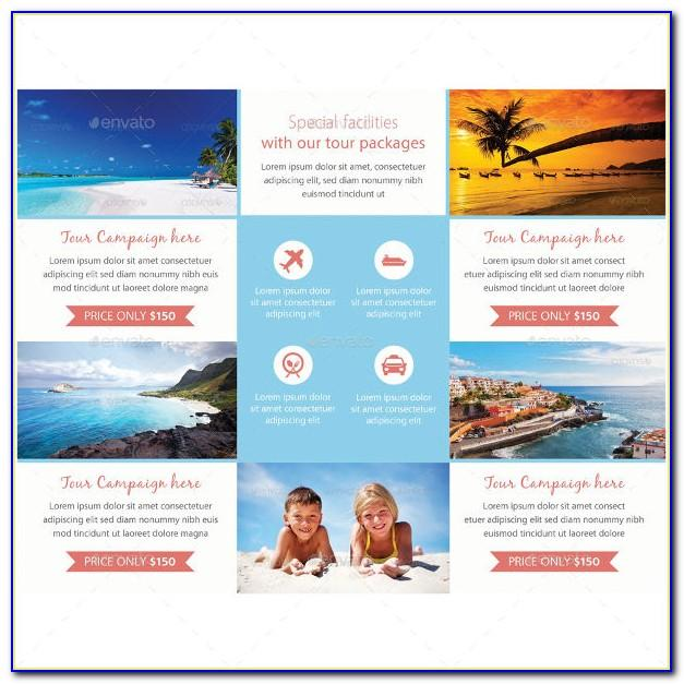Travel Agency Brochures Templates