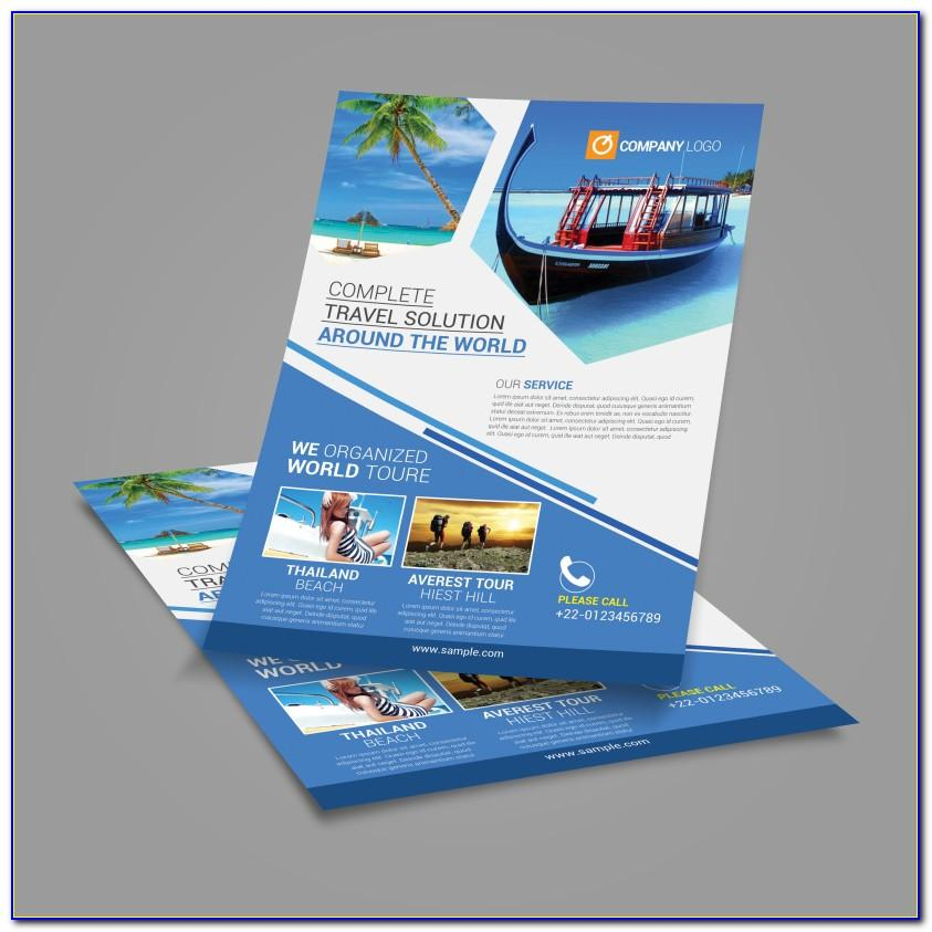 Travel Agency Flyers Templates