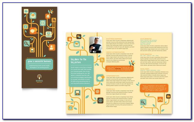 Tri Fold 6 Panel Brochure Template