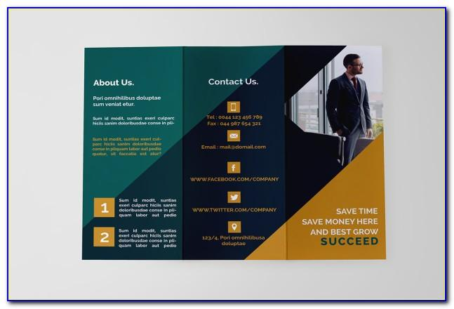 Tri Fold Brochure Free Psd Download