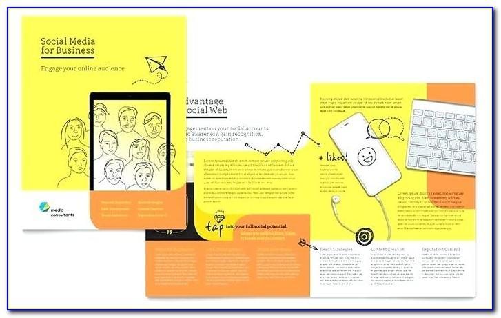 Tri Fold Brochure Layout Illustrator