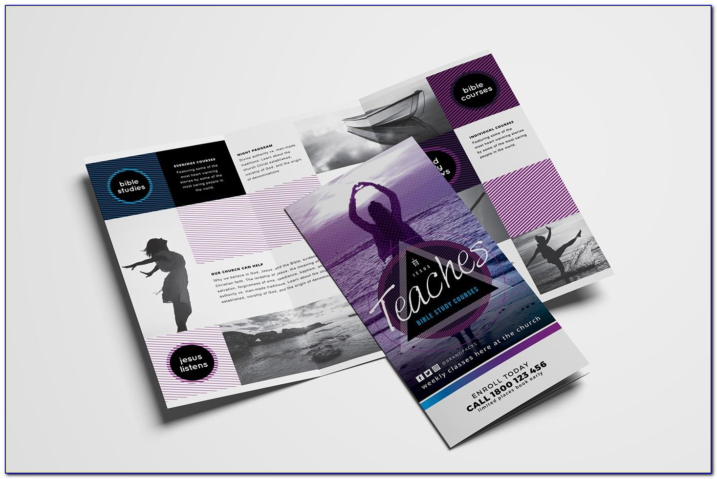 Tri Fold Brochure Template Adobe Illustrator Free