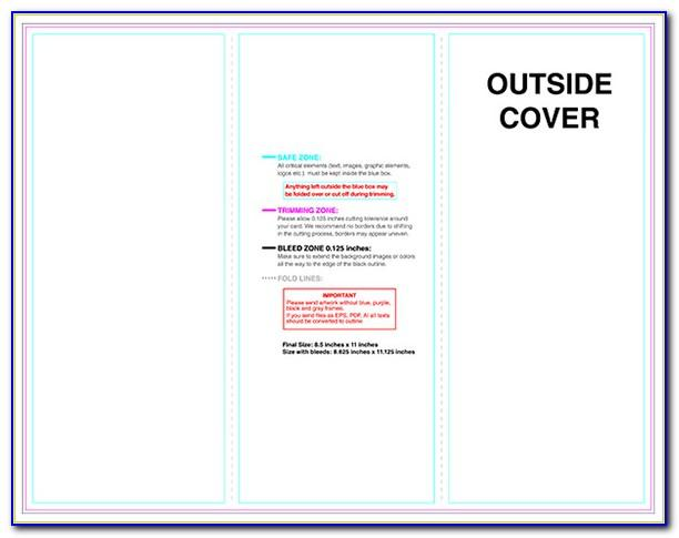 Tri Fold Brochure Template Adobe Illustrator