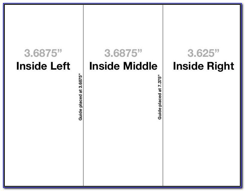 Tri Fold Brochure Template Ai Download