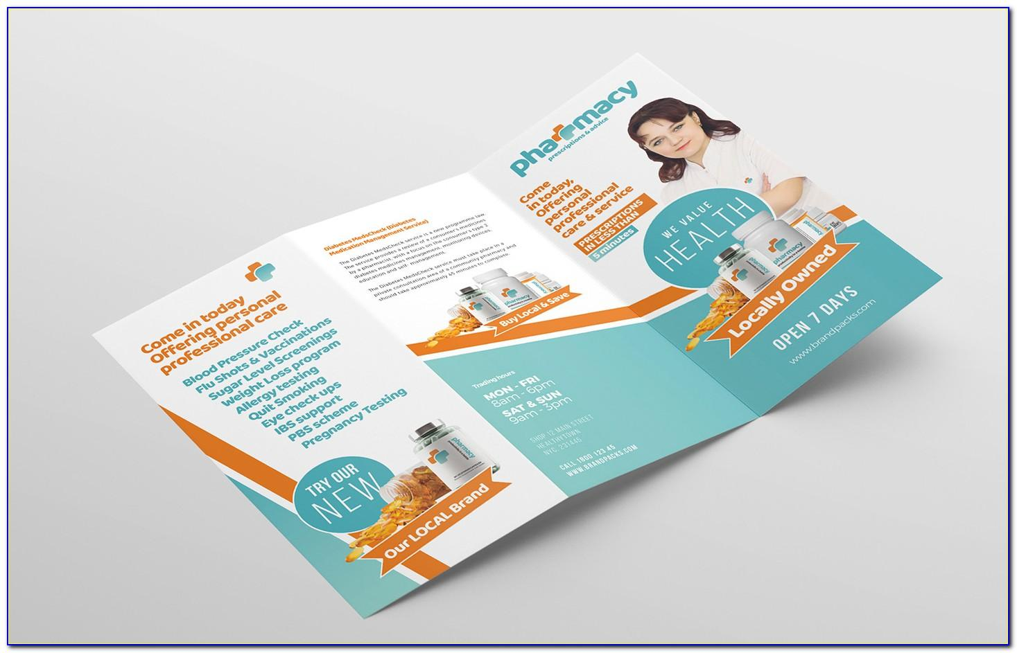 Tri Fold Brochure Template Free Download Microsoft Publisher