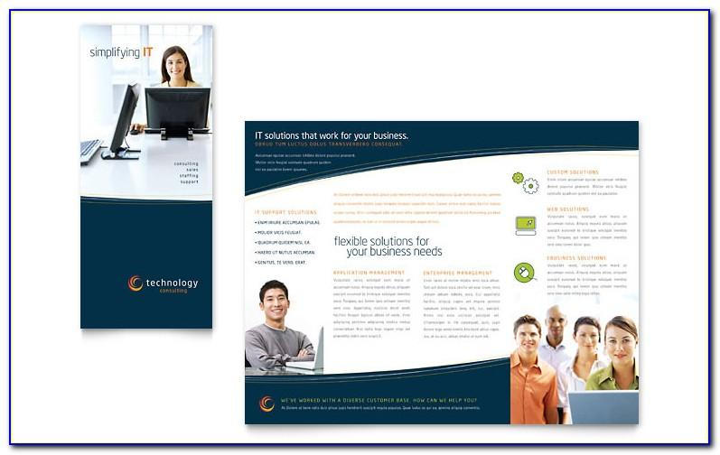 Tri Fold Brochure Template Free Download Open Office