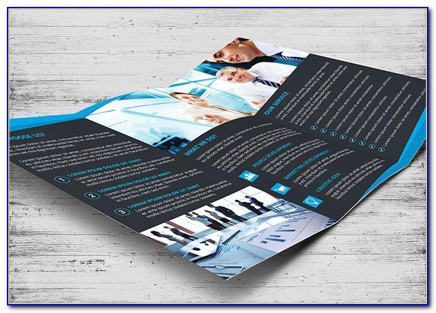 Tri Fold Brochure Template Free Download Psd