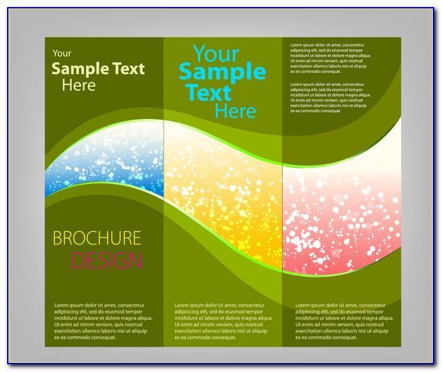 Tri Fold Brochure Template Free Indesign
