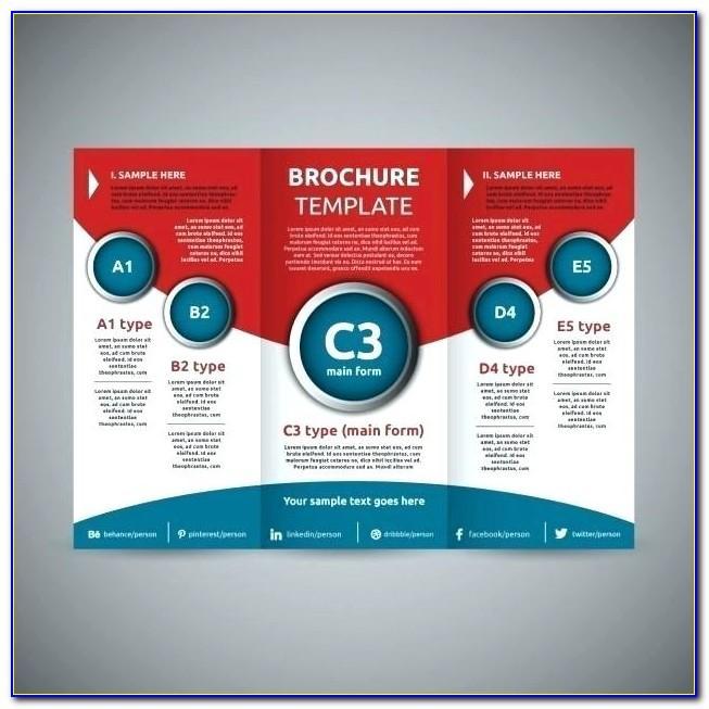 Tri Fold Brochure Template Illustrator Free Download